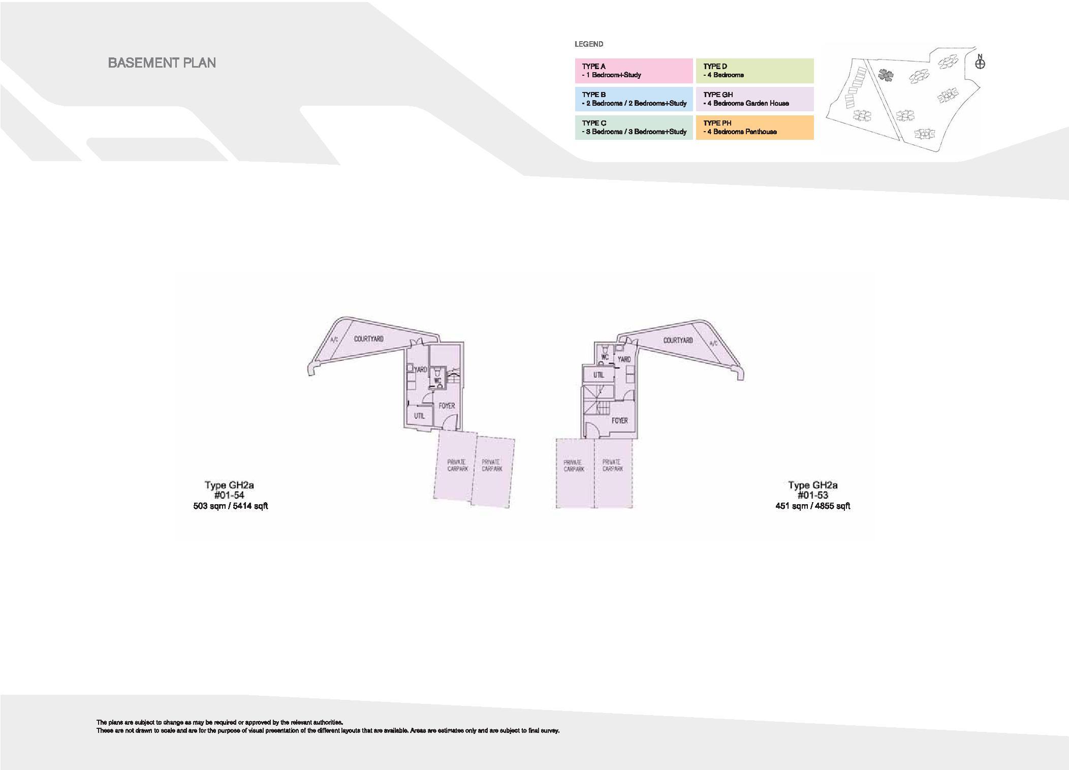 D'Leedon Block 15 Basement Floor Plans