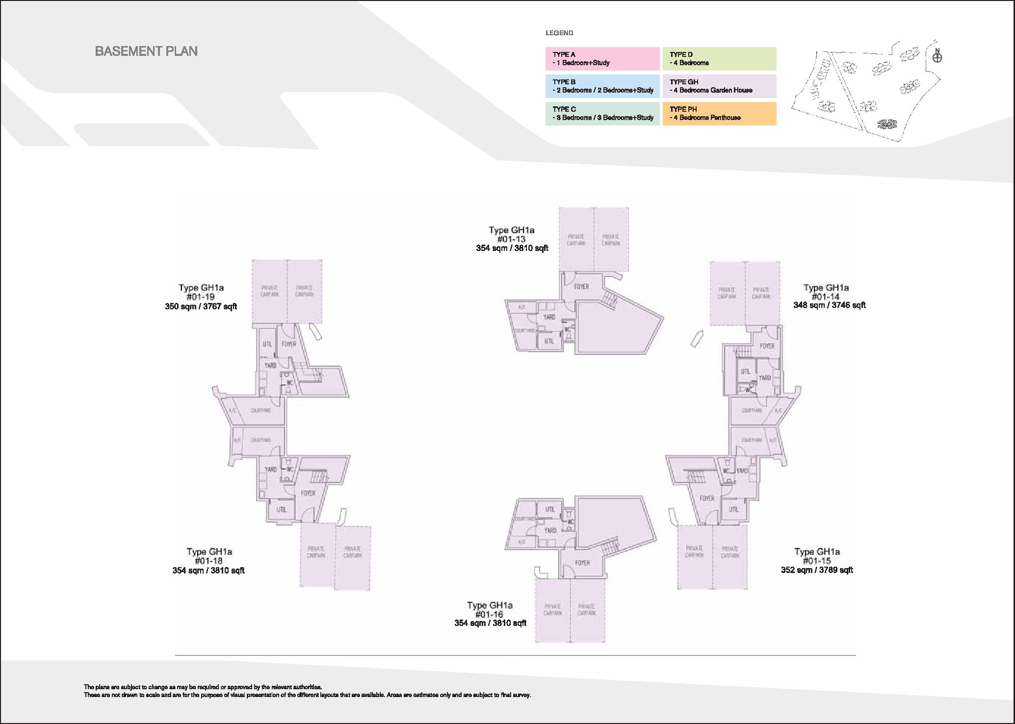 D'Leedon Block 7 Basement Floor Plans