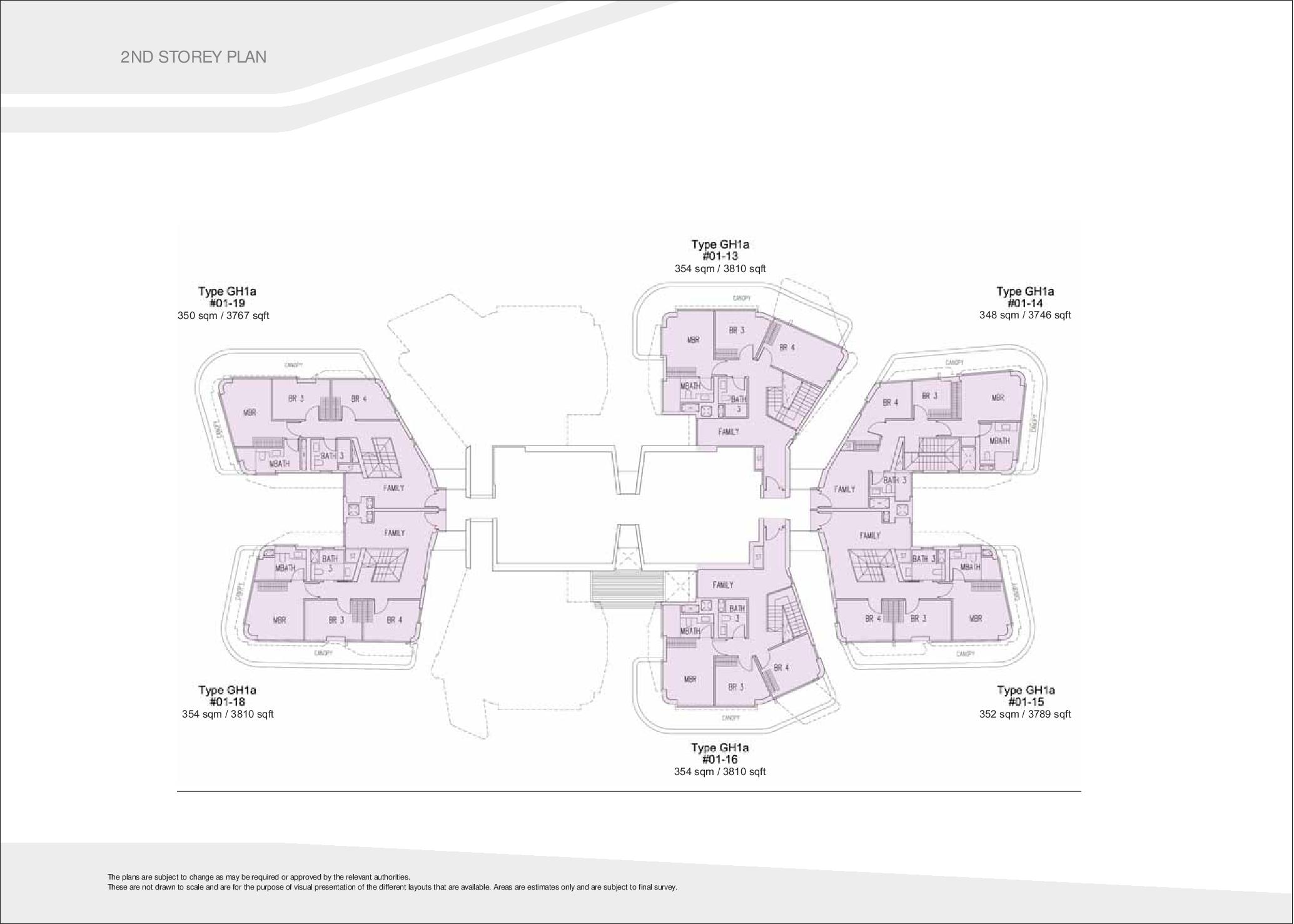 D'Leedon Block 7 2nd level Floor Plans